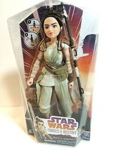 Disney Star Wars Hasbro Rey of Jakku Forces of Destiny Doll Adventure Figure NEW - $14.79