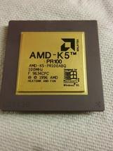 Amd K5 PR100 Desktop Cpu Processor- AMD-K5-PR100ABQ .... L1 - $61.42