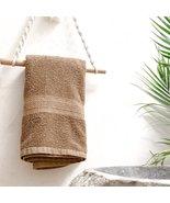 Macrame roll holder Paper towel holder Rope I Boho home decor accessories - £6.47 GBP