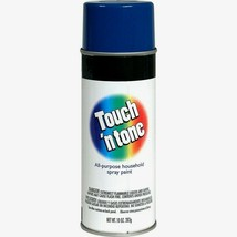 Rust-Oleum TOUCH N TONE Spray Paint 10oz ROYAL BLUE All-Purpose Home 552... - $4.99