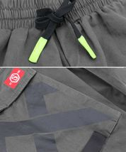 Men's Casual Cargo Pocket Pants Gym Workout Athletic Sport Drawstring Joggers image 7