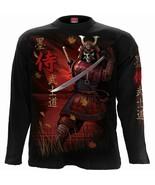Spiral Direct Samurai Giapponese Scheletro Warrior Manica Lunga T Shirt ... - $37.10