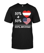 50 Percent Austria Percent American 100 Awesome Fun - $17.99+