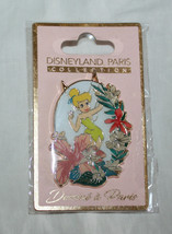 Disney Paris Pin Tinker Bell Flowers Disneyland Paris Collection NIP 2019 - $19.99