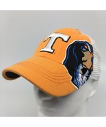 Tennessee Vols Orange White Smokey mascot Top of the World One Fit Hat N... - $28.04