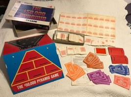 HTF Vintage 1981 The $50,000 Pyramid 8th Edition Board Game Milton Bradley USA  - $48.89