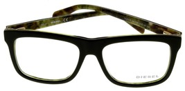 New Diesel Unisex Dark Green Eyeglasses Frame Rectangular DL5118 098 - $78.21
