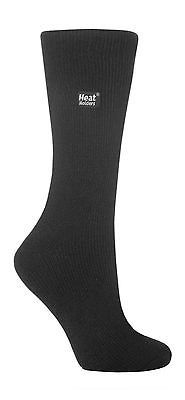 LADIES HEAT HOLDER THERMAL SOCKS 4-8 UK 37-42, 5-9 us  CHARCOAL GREY