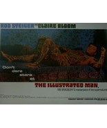 The Illustrated Man - Rod Steiger / Claire Bloom - Movie Poster Framed Picture - - $32.50