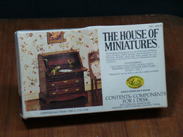 1977 House Of Miniatures 40017 Chippendale Desk Circa 1750 - 1790 Kit Xacto - $13.32