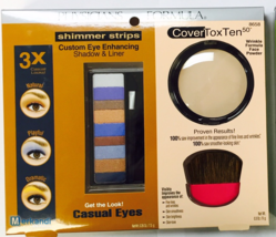 Physicians Formula Shimmer Strips Eye Enhancing Shadow, Liner + CoverTox... - $8.56