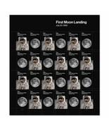 2019 55c First Moon Landing, Armstrong & Buzz Scott 5399-5400 Mint Sheet... - $25.99