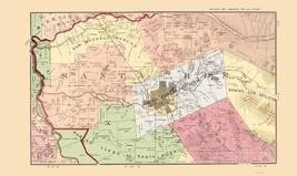 Sonoma  Central California Landowner - Thompson 1877 - 23 x 38.63 - $36.95+