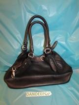Cole Haan Designer Pebbled Leather Black Shoulder Handbag Made In India - $59.40
