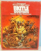 Advanced Dungeons & Dragons Battle Systems Fantasy Combat Supplement TSR - $39.75