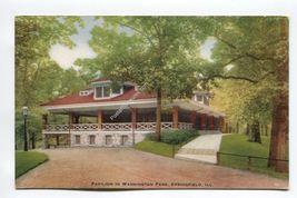 Pavilion in Washington Park Springfield Illinois - $3.19