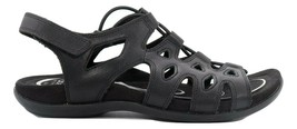 Abeo Women's Bina Sandals Black Size 7 Neutral Footbed ()5738 - $90.00
