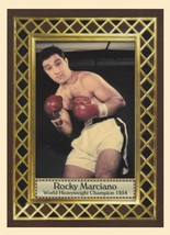 Rocky Marciano World Heavyweight Boxing Champ, Fan Club serial numbered ... - $4.94