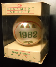 American Greetings Christmas Ornament 1982 Remember Good Friends Like Yo... - $7.99
