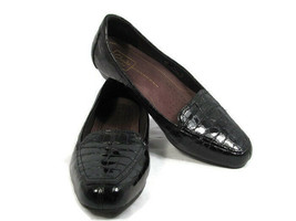 Clarks Everyday Womens Comfort Shoes Classic Pumps Patent Leather Croc P... - $24.74
