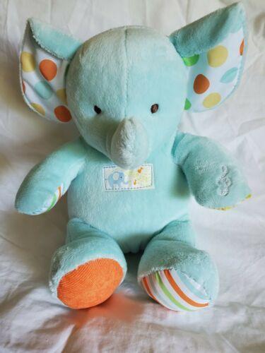 Carters BLUE BEAR Singing Animated Alphabet ABC Plush Stuffed Baby Toy - $17.52