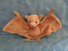 1996 TY Beanie Baby Batty The Bat Stamp Error & PVC Pellets - Rare - No ... - $5.45