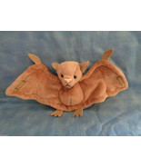 1996 TY Beanie Baby Batty The Bat Stamp Error & PVC Pellets - Rare - No ... - $5.45