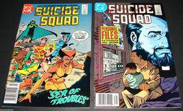 2 1989 DC Comics SUICIDE SQUAD 25 & 31 FINE Comic Books Ostrander Miehm ... - $10.99