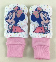 Baby Minnie Mouse Rattle Foot Jingles Socks Disney Baby Gear Vintage 90s - $18.76