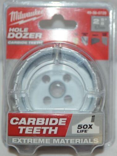 Milwaukee 49560729 Hole Dozer Carbide Teeth 50 Times Life Extreme Materials