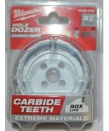 Milwaukee 49560729 Hole Dozer Carbide Teeth 50 Times Life Extreme Materials - $24.27