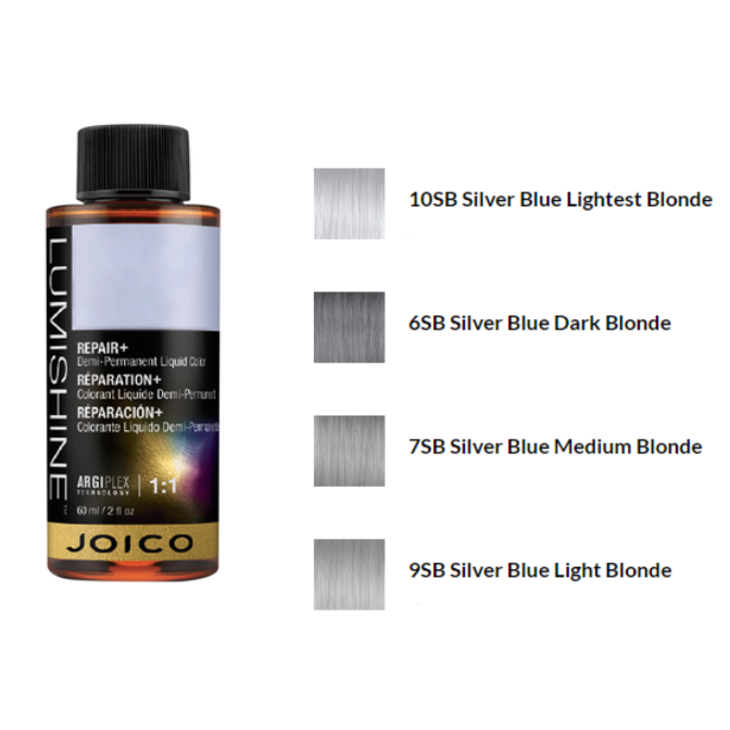 Joico Lumishine Demi-Liquid Silver Blue Series Shades, 2oz - $12.50