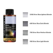 Joico Lumishine Demi-Liquid Silver Blue Series Shade Hair Color, 2oz image 2