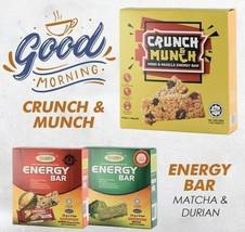 5Boxes Dasto Snacks Energy Bar Crunchy, Delicious, Nutritious & Weight Control - $62.91