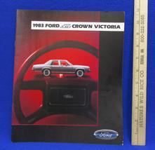 Vintage 1983 Ford LTD Crown Victoria Car Dealership Brochure Information... - $7.91
