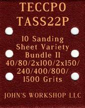 TECCPO TASS22P - 40/80/100/150/240/400/800/1500 - 10pc Variety Bundle II - $12.46
