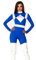 Forplay Dominio Potenza Blu Ranger Sexy Adulto Donna Halloween Costume 5... - $66.17