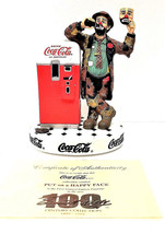 """Rodeo Clown Emmett Kelly """" Put On A Happy Face """" Collection Figurine LTD... - $76.05"""