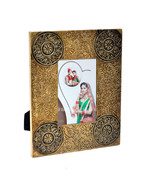 Decorative 4X6 Picture Frames Made of Solid Wood Brass FTD for Table Top... - £22.11 GBP