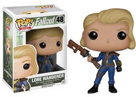 Fallout Female Lone Wanderer Vinyl Pop! Figure Toy #48 Funko New Mib - $12.55