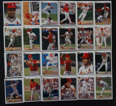 1992 Upper Deck UD St. Louis Cardinals Team Set of 24 Baseball Cards Mis... - $3.00