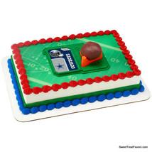 DALLAS COWBOYS Football NFL Cake Topper Decoration Supplies Set Cupcake ... - $9.88