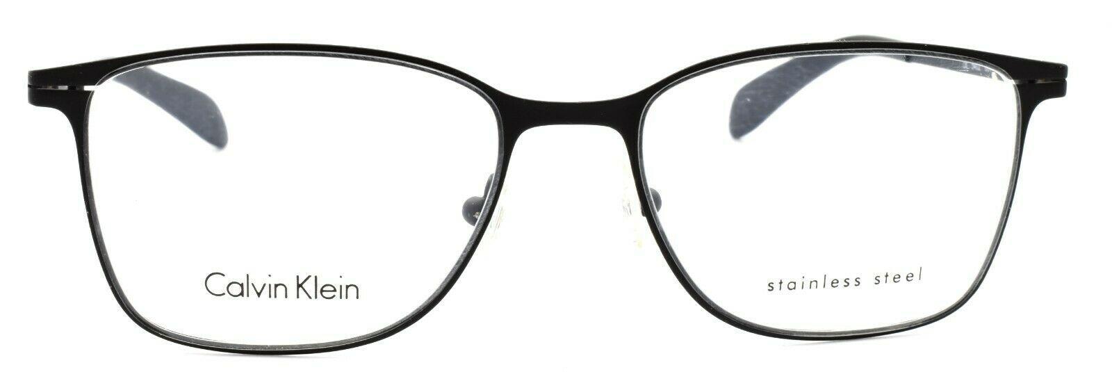 Calvin Klein CK5402 001 Unisex Eyeglasses Frames 51-17-135 Matte Black ITALY