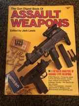 THE GUN DIGEST BOOK OF ASSAULT WEAPONS 1986 SC BOOK - $16.78