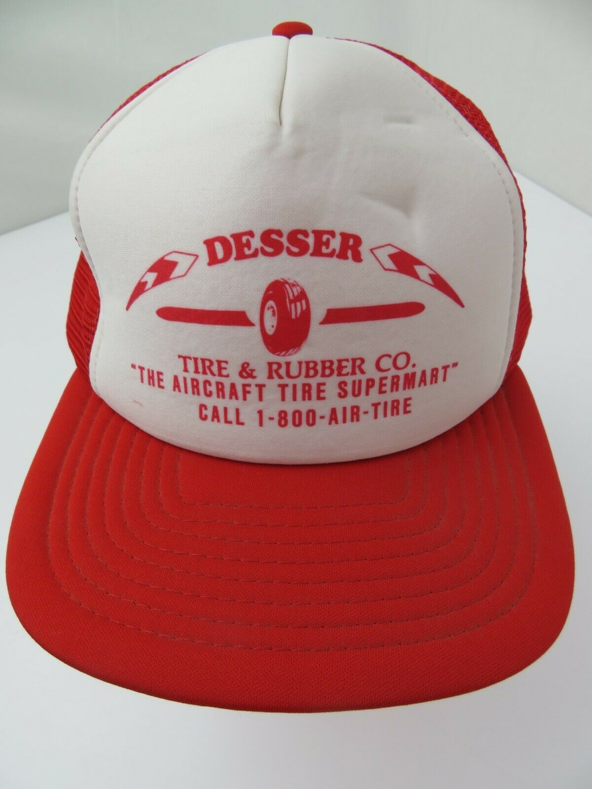 Primary image for Desser Tire & Rubber Co Aircraft Supermart Trucker Snapback Adult Cap Hat