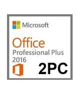 Microsoft Office Professional  Plus 2016  for 2PCs - $26.99