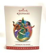 NEW 2016 Hallmark Blessed By The Season Keepsake Ornament African American - $8.90