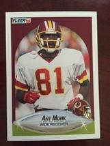 1990 Fleer - Art Monk #164 - $0.99