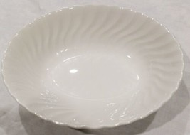 "Johnson Brothers White Regency Swirl 9"" Oval Vegetable Bowl (2 Available) - $18.53"