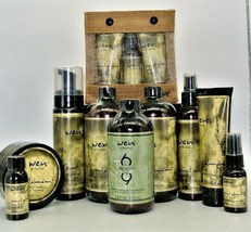 WEN by Chaz Dean Healthy Hair Care 90 Day Supply Set/Kit Lot Sweet Almon... - $199.99